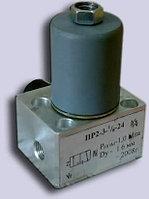 Пневмораспределитель (электропневмовентиль) ПР 2-3 24В, фото 1