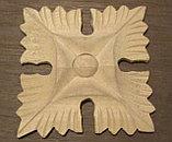 Декоративный элемент квадратный цветок (60*60) F - 91(a)., фото 2