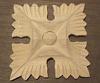 Декоративный элемент квадратный цветок (80*80) F - 91.