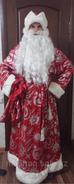 Костюм Дедушки Мороза Богатый