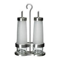 Набор для масла/уксуса ДРОППАР 3 предм нержавеющ сталь ИКЕА, IKEA , фото 1