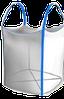 Биг-бэг одно-двух-четырехстропный  (ленточный) открытый верх плоское дно