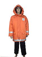 Куртка зимняя, удлиненная, со съемным жилетом