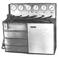 Стенд для испытания пневмоаппаратов К-245М