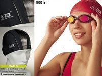 Шапочки  для плавания  - ткань, фото 1