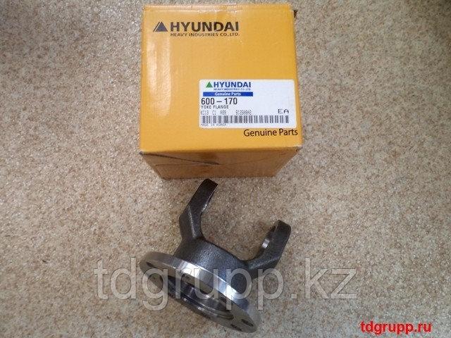 Фланец кардана 600-170 экскаватора Hyundai