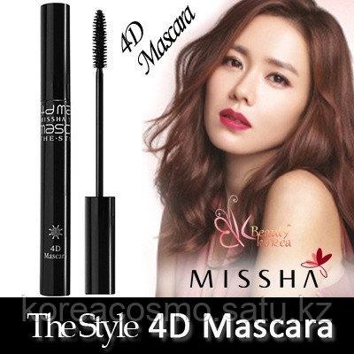 "Тушь для ресниц Missha""The Style 4D Mascara"