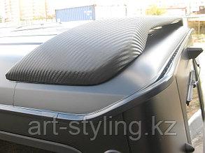 Mercedes-Benz G-класс, черная матовая пленка