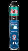 Мега профессиональная монтажная пена70 л(зимняя -25) Akfix