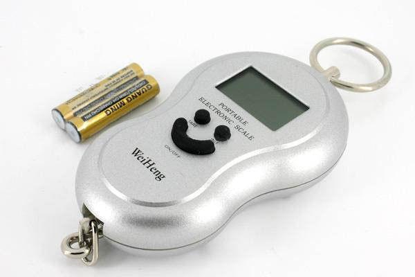 Электронный цифровой безмен (Карманные весы)