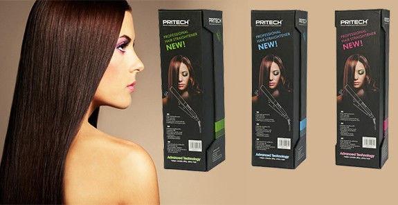 Утюжок для выпрямления волос с керамическим покрытием Pritech, фото 2