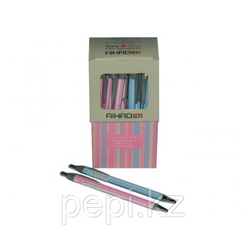 Ручка автоматическая Aihao, 0,5 мм, синяя