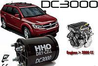Генератор водорода для экономии топлива HHO DC3000