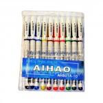 Ручка гелевая Aihao 10 цветов
