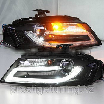 Передние фары A4L B8 LED Head Light with projector lens for Audi 2009-2012 Year