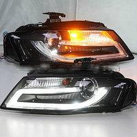Передние фары A4L B8 LED Head Light with projector lens for Audi 2009-2012 Year, фото 1