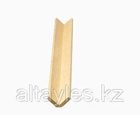 Уголок наружний из дерева (сосна) 30х30х3000 мм сорт АВ