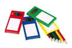 Цветные карандаши и фломастеры