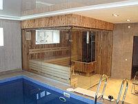 Строительство саун, русских и турецких бань, бассейнов, теплый пол