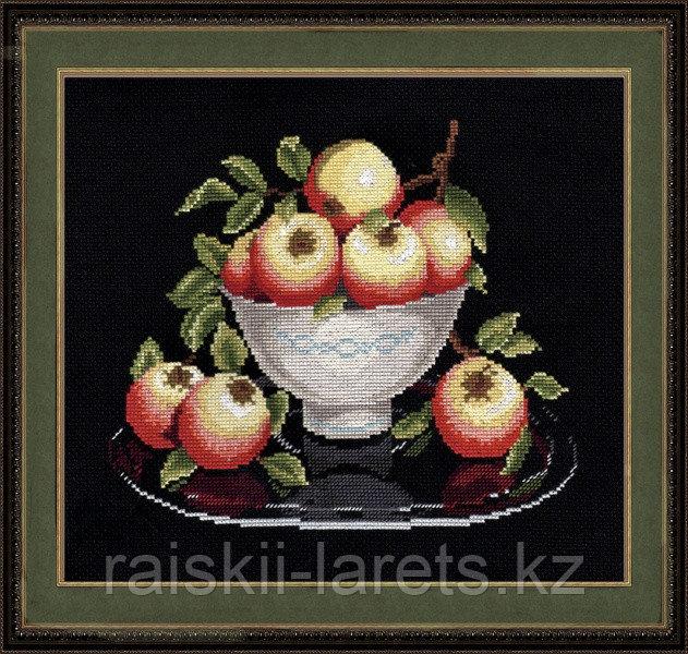 """Набор для вышивания крестиком """"Яблоки в вазе"""" 594"""