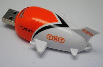 "USB флеш с логотипом ""самолет"""