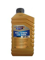 Моторное масло AVENO Full Synth.  Low SAPS 5W-30 1L
