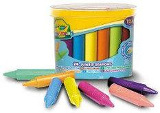 Мелки и восковые карандаши