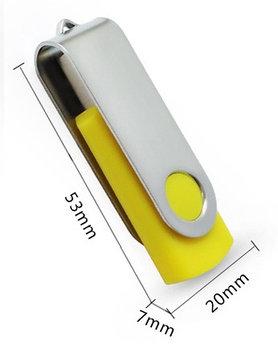 USB флешка 1 Gb силиконовая (цвета в ассортименте)