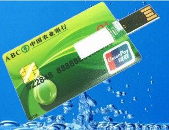 USB флешка 8 Gb кредитная карта