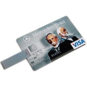 USB флешка 4 Gb кредитная карта