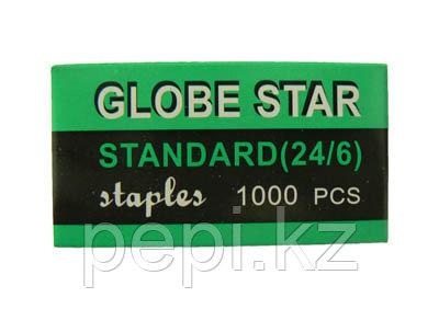 Скобы №24/6 Globe Star