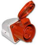 Розетка ССИ-115 3Р+РЕ+N 16А 380В IP44