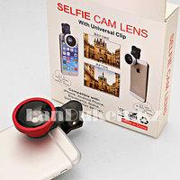 Объектив для телефона Selfi Cam Lens removable wide angel lens, объектив для селфи фото на прищепке