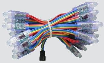 Программируемые точечные светодиодные модули RGBIC - VIDEO (IP67)  0,15W, 12мм