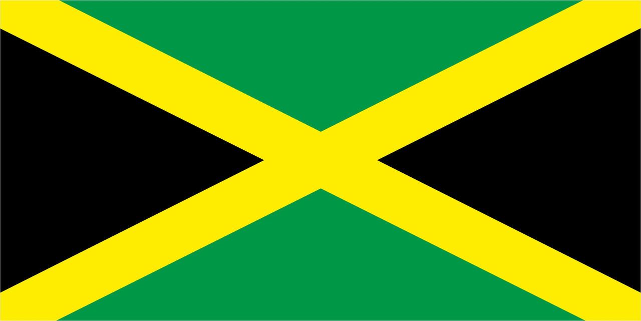 Флаг Ямайки размер 1 х 2 метра.