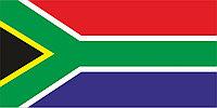 Флаг Южно-Африканской Республики размер 1 х 2 метра.