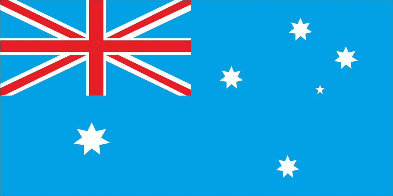 Флаг Австралии размер 1 х 2 метра.