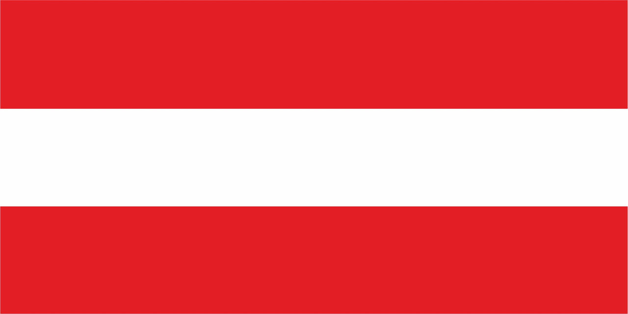 Флаг Австрии размер 1 х 2 метра.