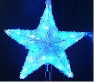 Звезды новогодние акриловые, звезда новогодняя, консоли звезды, звездочка