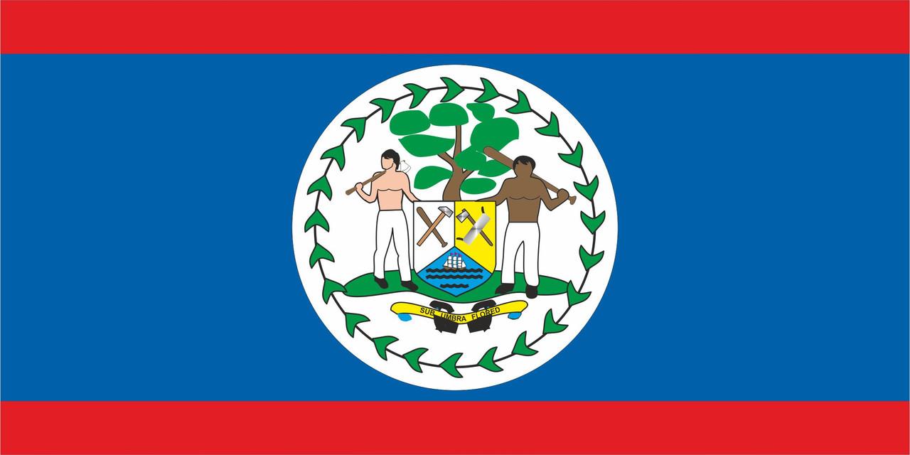 Флаг Белиза размер 1 х 2 метра.