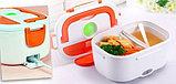 Контейнер для еды с подогревом Electric Lunch Box (ланч бокс), фото 8