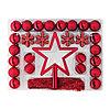 ВИНТЕР 2015 Набор украшений, 56 шт., красный