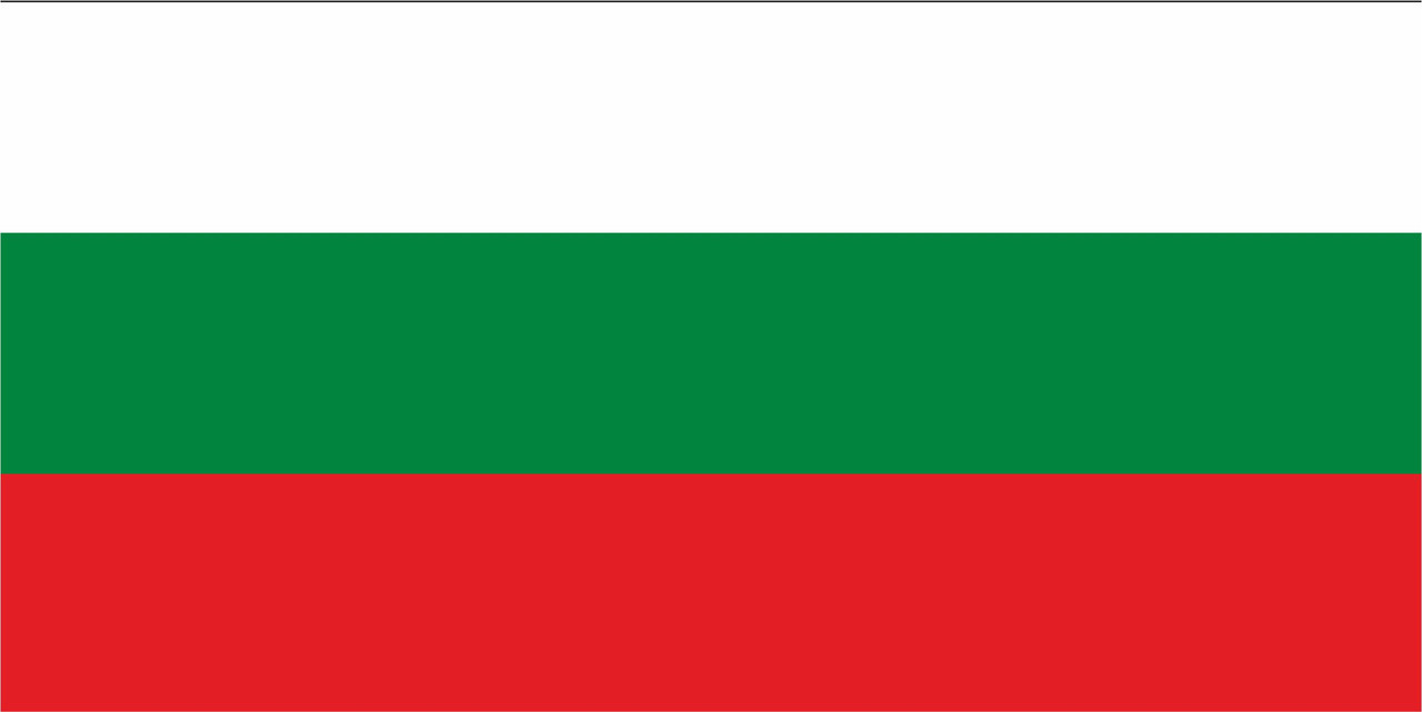 Флаг Болгарии размер 1 х 2 метра.