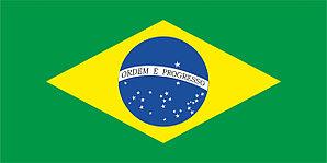 Флаг Бразилии размер 1 х 2 метра.