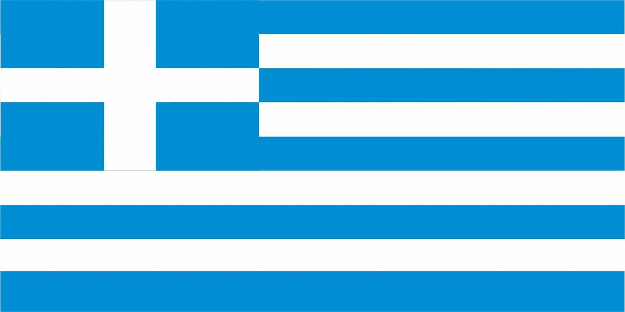 Флаг Греции размер 1 х 2 метра.