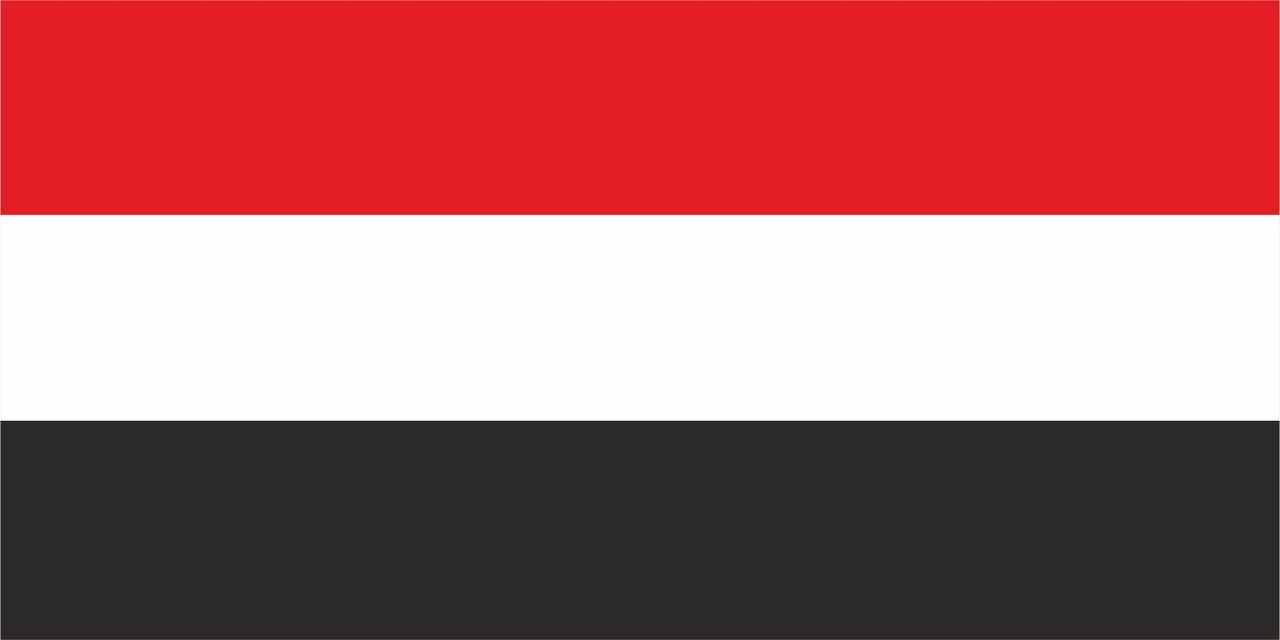 Флаг Йемена размер 1 х 2 метра.
