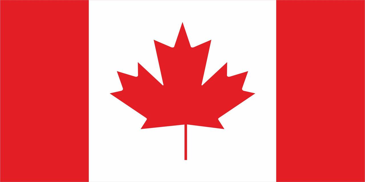 Флаг Канады размер 1 х 2 метра.