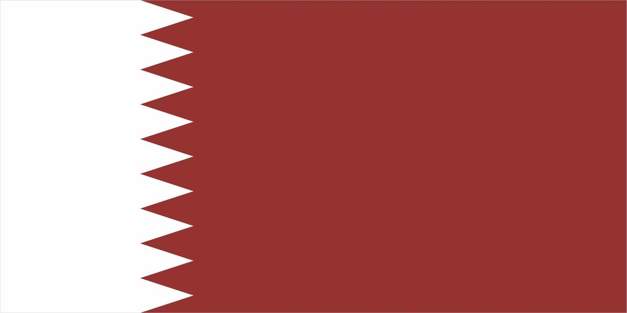 Флаг Катара размер 1 х 2 метра.