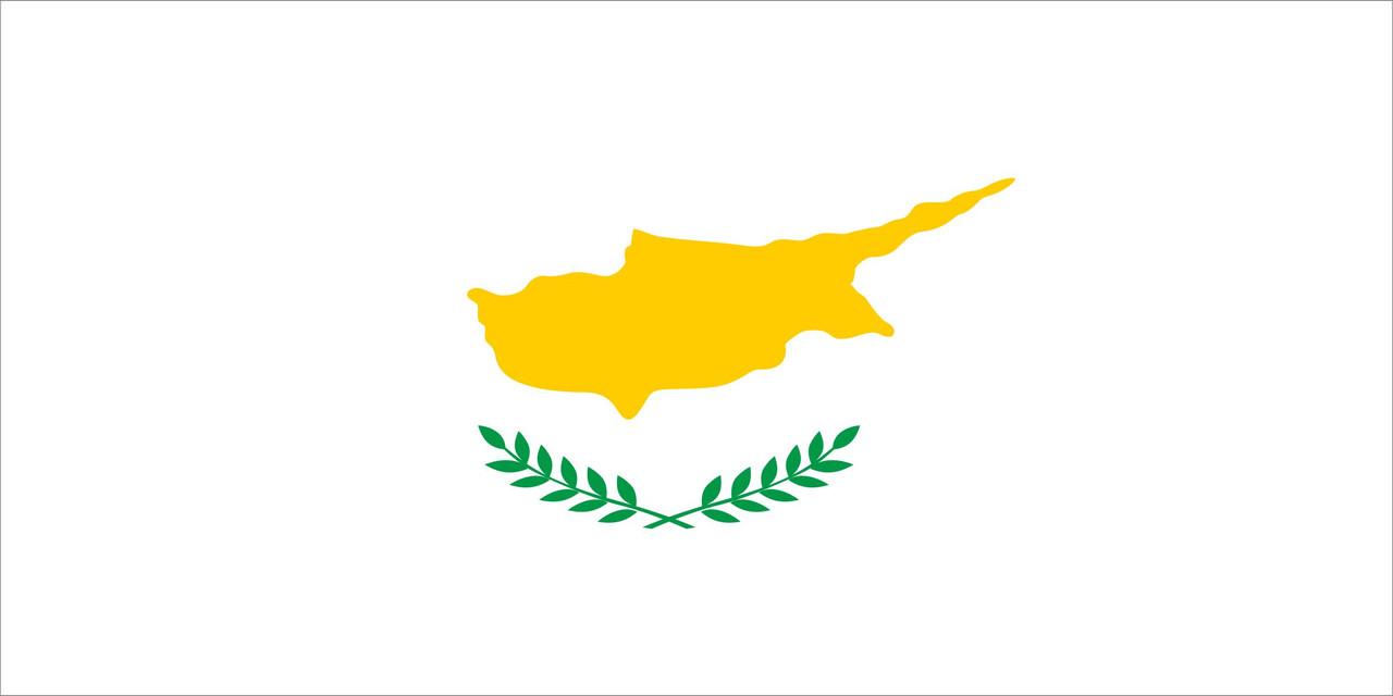 Флаг Кипра размер 1 х 2 метра.