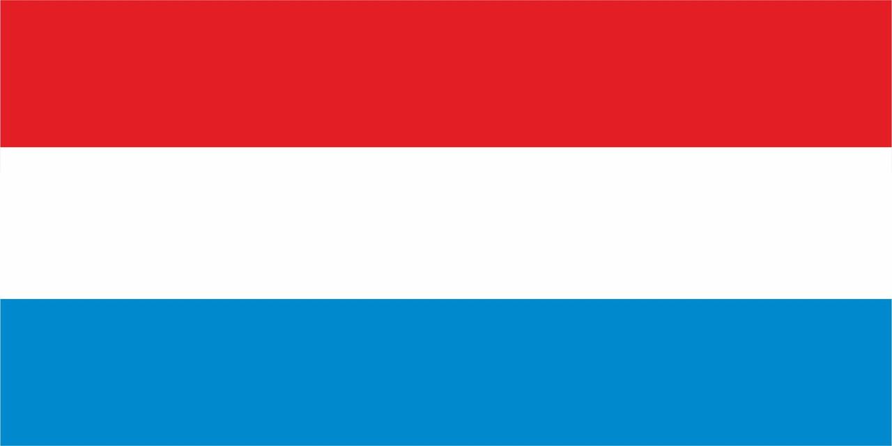 Флаг Люксембурга размер 1 х 2 метра.